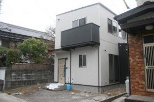 高知市針木のK様邸の完成写真で、正面から撮った写真になります。