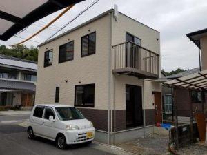 高知市神田のK様邸の完成写真です。新築外観になります。