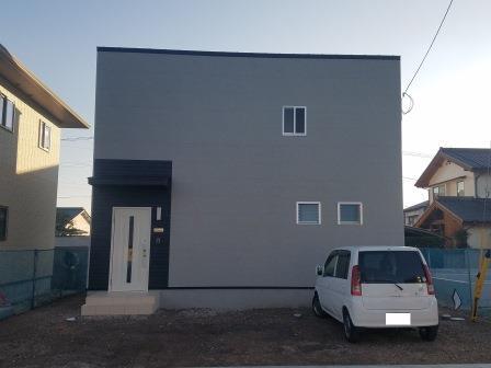 サンブランドハウスで建てた新築一戸建てのお家です。