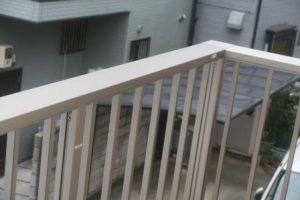 高知市神田のK様邸、サンブランドハウスの新築完成写真です。ベランダになります。