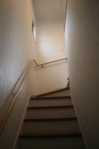 高知市針木の新築のK様邸です。階段の写真になります。