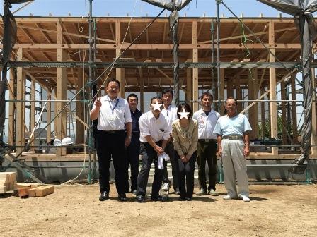 赤磐市で新築の平屋を建てたMさんの写真です。
