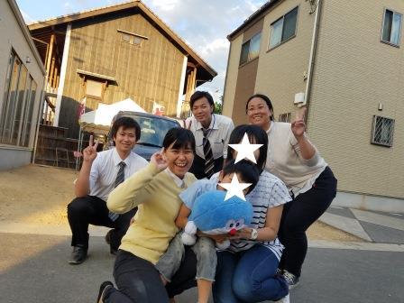 倉敷市で新築一戸建てを建てたOさんの写真です。