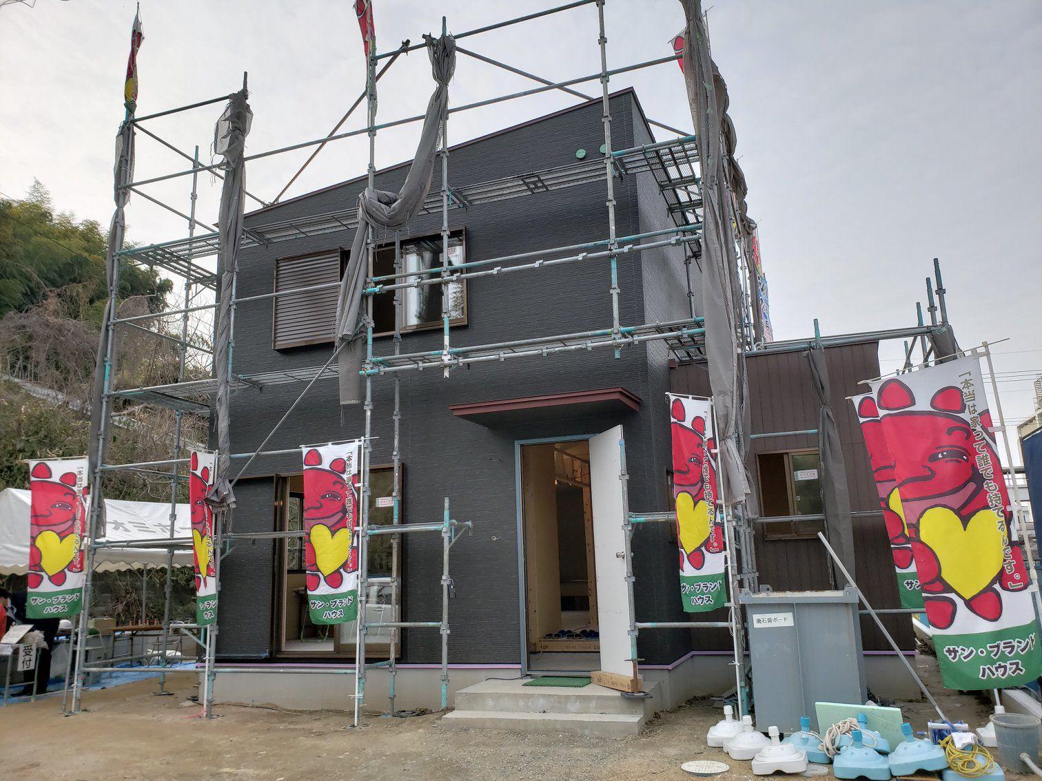 岡山市南区片岡の3月2日、3月3日の新築見学会場です