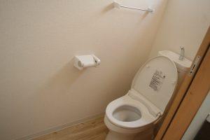 岡山県倉敷市Y様邸の新築完成写真のトイレです。