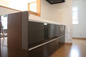 岡山県倉敷市Y様邸の新築完成写真のキッチンです。