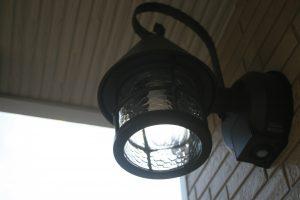 岡山県倉敷市Y様邸の新築完成写真の照明です。