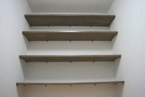 岡山県倉敷市Y様邸の新築完成写真の収納スペースです。