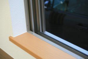 岡山県倉敷市Y様邸の新築完成写真の窓部分になります。