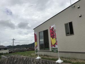 岡山県赤磐市M様邸の完成見学会の様子です。