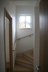 香美市土佐山田町で新築を建てたY様のお家の階段の写真です。