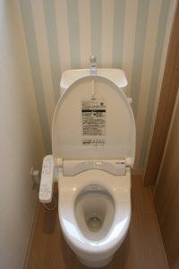 香美市土佐山田町で新築を建てたY様のお家のトイレの完成写真です。