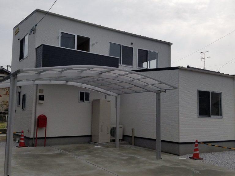 香美市土佐山田町で新築を建てたY様のお家の正面写真です。