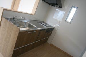 香美市土佐山田町で新築を建てたY様のお家のキッチンの写真です。