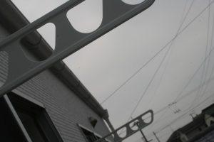 香美市土佐山田町で新築を建てたY様のお家の物干し竿掛けの写真です。