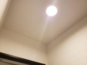 高知市のリフォームH様邸の照明の写真です。