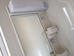 岡山市南区福富西の森本様邸新築写真の洗面器部分です。