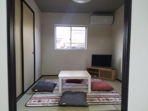 岡山市南区福富西の森本様邸新築写真の和室の写真です。