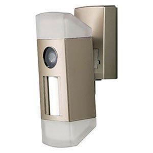 シングルマザーのための家の防犯設備のセンサーライトの画像です。