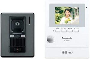 シングルマザーのための家の防犯設備のテレビドアホンの画像です。