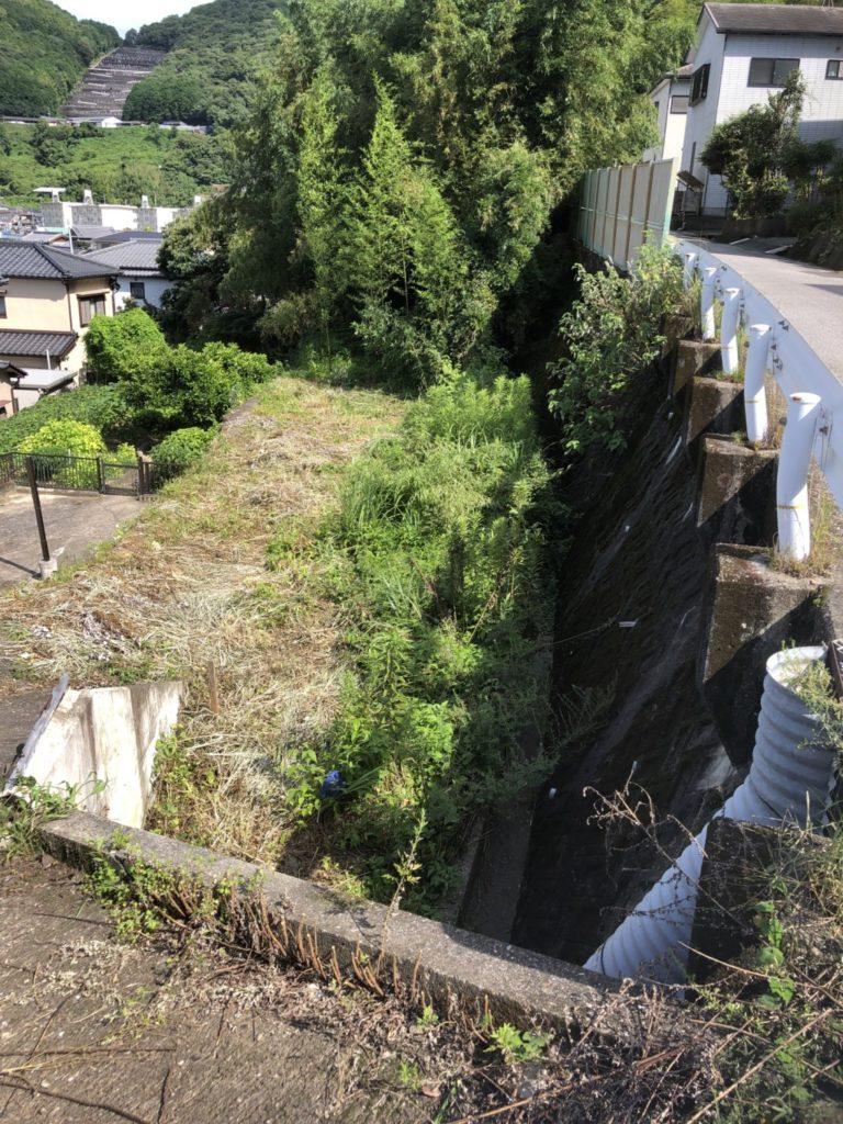 高知市神田のT様邸新築工事の土地です。