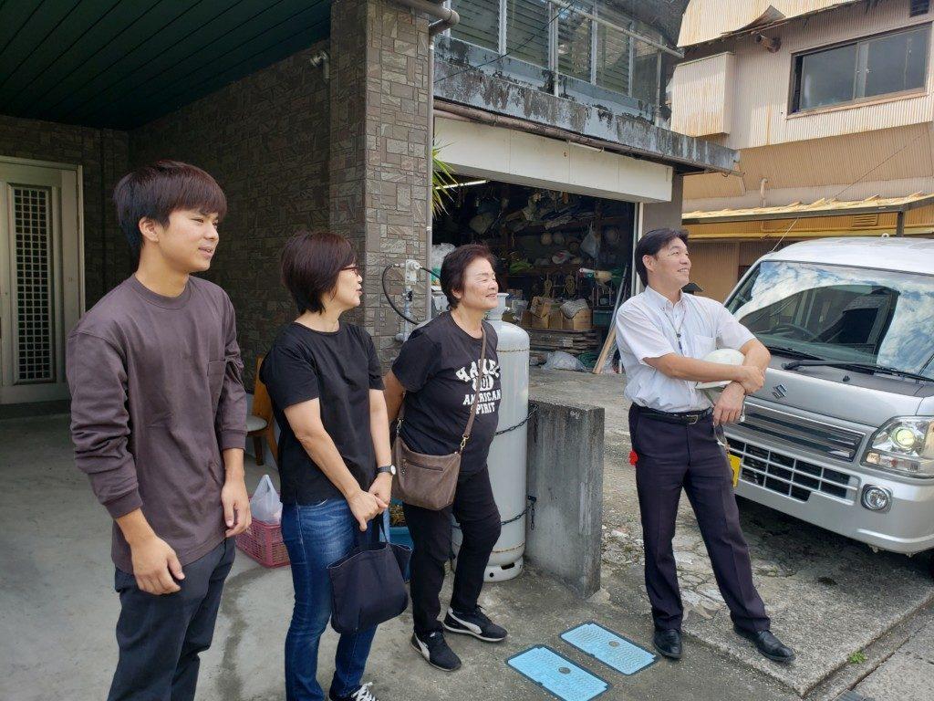 高知市で新築を建てたWさんの打ち合わせ写真です。