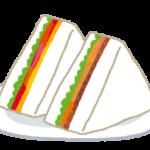 サンドイッチの画像です。