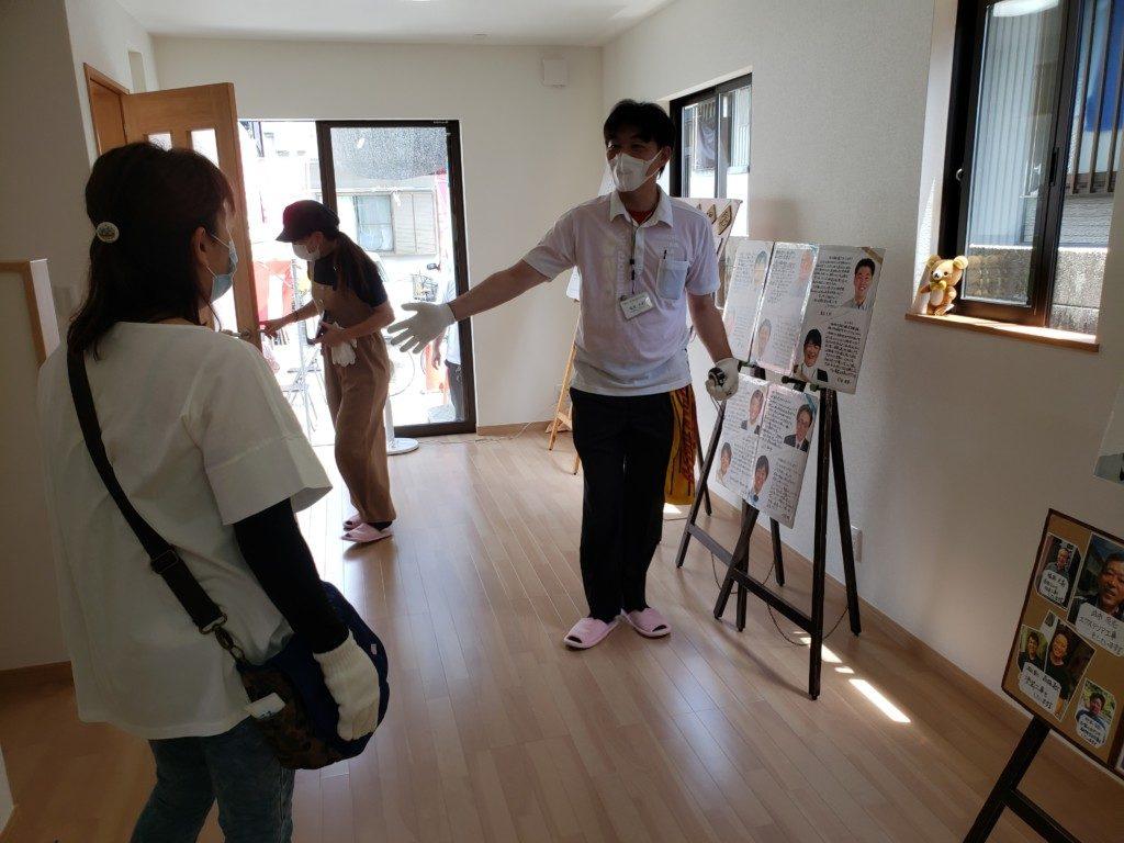 新築見学会の様子です | 高知市で月々三万円で新築一戸建てを建てるならサンブランドハウス