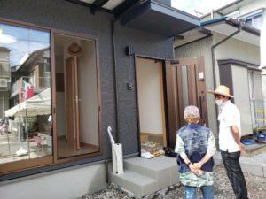 サンブランドハウスの見学会の様子です | 高知市で月々三万円で新築一戸建てを建てるならサンブランドハウス