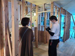 シングルマザーのための家新築見学会の様子です | 香美市で新築一戸建てを建てるならサン・ブランドハウス