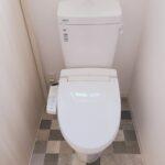 土佐市高岡町のTさん邸のトイレの新築完成写真です。