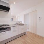 土佐市高岡町のTさん邸のキッチンの新築完成写真です。