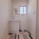 土佐市高岡町のTさん邸の洗面の新築完成写真です。