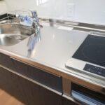 高知市七ツ淵のK様邸のキッチンの完成写真です。