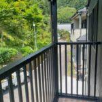 高知市七ツ淵のK様邸のベランダの完成写真です。