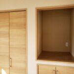 高知県南国市のY様邸のリビングの収納スペース新築完成写真です。