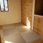 高知県南国市のY様邸の和室の新築完成写真です。