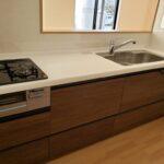 高知県南国市のY様邸のキッチンの新築完成写真です。