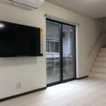 岡山県岡山市のK様邸の階段の新築完成写真です。