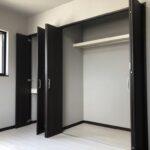 岡山県岡山市のK様邸の収納スペースの新築完成写真です。